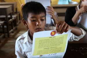 Introduction about ASEAN (Photo by: Lucky Caesar)
