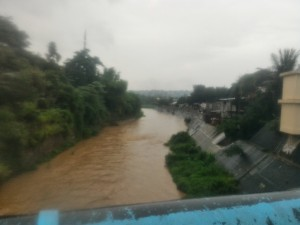 This river usually overflows when nonstop rain is experienced in Barangay Banaba.